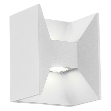 EGLO 91098 - LED Venkovní nástěnné svítidlo MORINO 2xLED/4,76W bílá