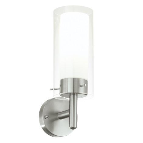 EGLO 91111 - Venkovní nástěnné svítidlo FOSSALTA 1xE27/15W bílá