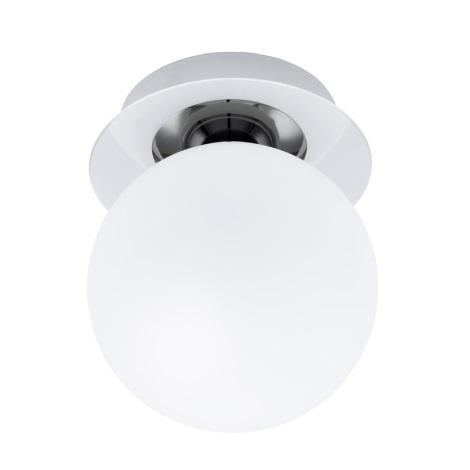 EGLO 91184 - Nástěnné stropní svítidlo BANTRY 1xG9/40W Chrom / opálové sklo
