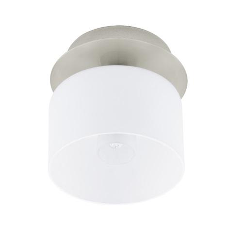 EGLO 91194 - Nástěnné stropní svítidlo BANTRY 1xG9/40W matný nikl / opál