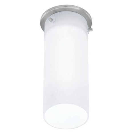 EGLO 91202 - Nástěnné stropní svítidlo BANTRY 1xG9/40W matný nikl / opál