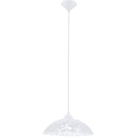 EGLO 91237 - Závěsné svítidlo VETRO 1xE27/60W