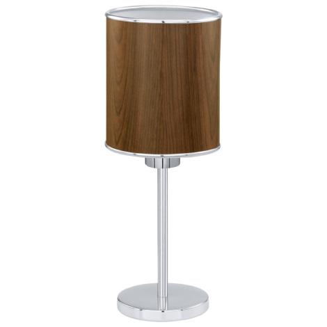 EGLO 91267 - Stolní lampa FOLIGNO 1xE27/60W