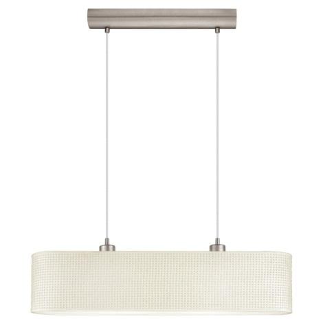 EGLO 91284 - Závěsný lustr KALUNGA 2xE27/60W