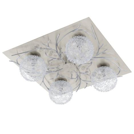 EGLO 91345 - Nástěnné stropní svítidlo HEDDA 4xG9/40W