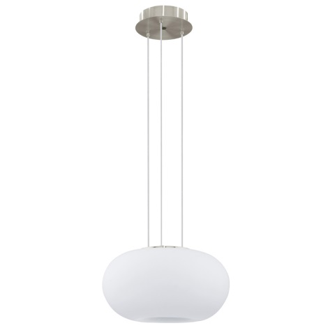 EGLO 91382 - LED Lustr na lanku GALAXIA 2xE27/18W opálové sklo