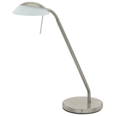EGLO 91481 - Stolní lampa CAREN matný nikl/satén