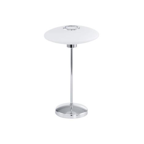 EGLO 91597 - Stolní lampa MELINA 1xG9/48W bílé opálové sklo