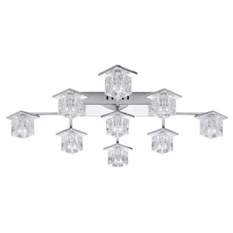EGLO 91601 - LED stropní svítidlo KALINDA 1 9xG4/20W + 36xLED/0,05W
