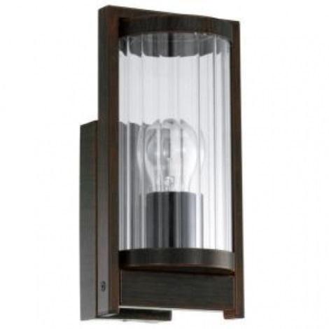 EGLO 91642 - Venkovní nástěnné svítidlo BAGAOS 1xE27/60W