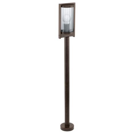 Eglo 91643 - Venkovní lampa BAGAOS 1xE27/60W antická hnědá