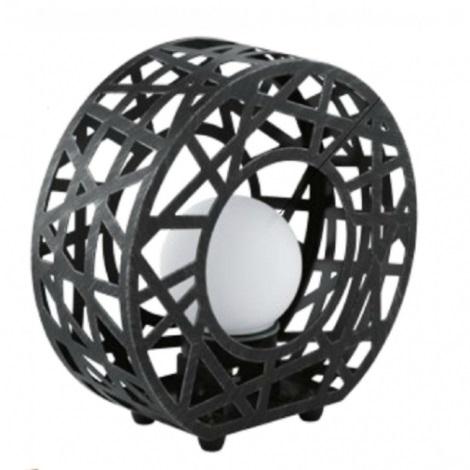 EGLO 91659 - Venkovní lampička JABAL 1xG9/40W černá