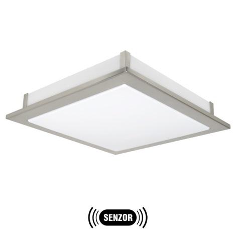 EGLO 91669 - LED senzorové stropní svítidlo AURIGA 1xLED/18W matný chrom