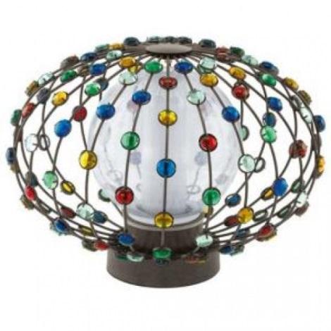 EGLO 91716 - Venkovní lampička CADELLA 1xE27/22W hnědá