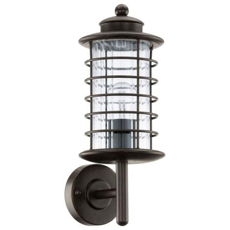 EGLO 91728 - Venkovní nástěnné svítidlo NABILA 1xE27/60W