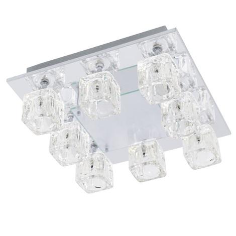 EGLO 91977 Stropní svítidlo TANGA 2 8xG4/20W + LED/1,92W