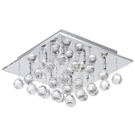 EGLO 91978 - LED stropní svítidlo SORAYA 1 8xG4/20W + LED/1,92W