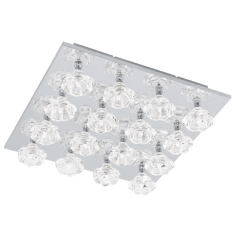 EGLO 91981 - Stropní svítidlo FELICINO 16xG4/10W + LED/2,6W