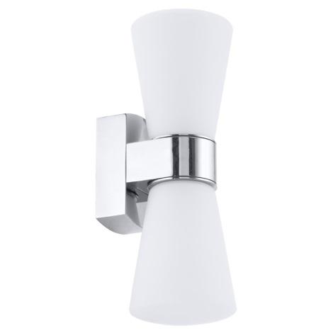 Eglo 91989 - Koupelnové nástěnné svítidlo CAILIN 2xG9/33W/230V