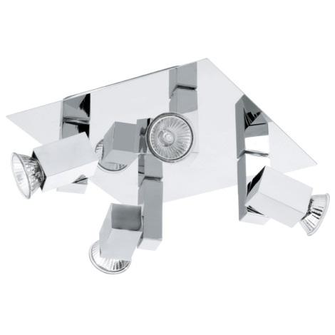 EGLO 92166 - Bodové svítidlo PIANA 4xGU10/40W
