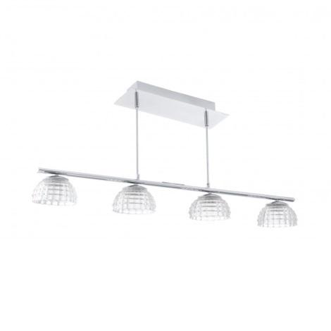 EGLO 92218 - LED závěsné svítidlo FROSSINI 4xLED/6W/230V