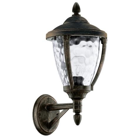 EGLO 92232 - Venkovní nástěnné svítidlo ABIRA 1xE27/60W/230V