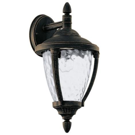Eglo 92233 - Venkovní nástěnné svítidlo ABIRA 1xE27/60W/230V