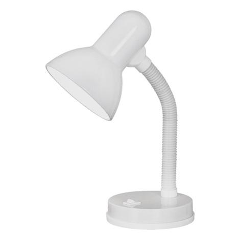 EGLO 9229 - Stolní lampa BASIC 1xE27/40W bílá