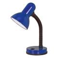 EGLO 9232 - Stolní lampa BASIC 1xE27/40W modrá