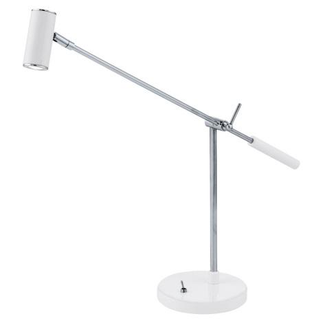 EGLO 92515 - LED Stolní lampa LAURIA 1 1xLED/2,38W bílá