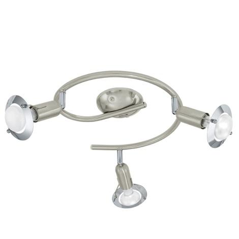 EGLO 92629 - Bodové svítidlo DARWIN 1 3xE14/40W