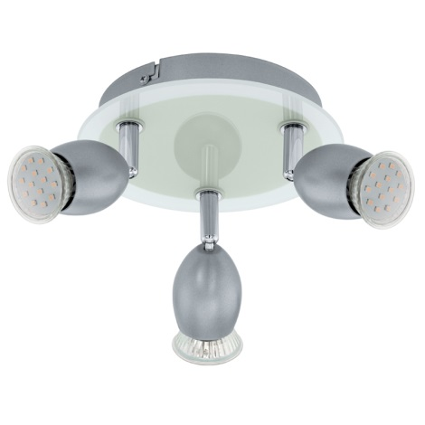 Eglo 92634 - Stropní svítidlo LEONESSA 3xGU10/3W/230V
