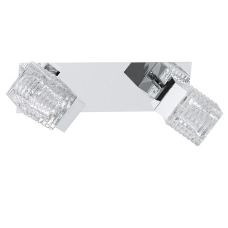 Eglo 92663 - LED světlo QUARTO 2xLED/4,5W/230V