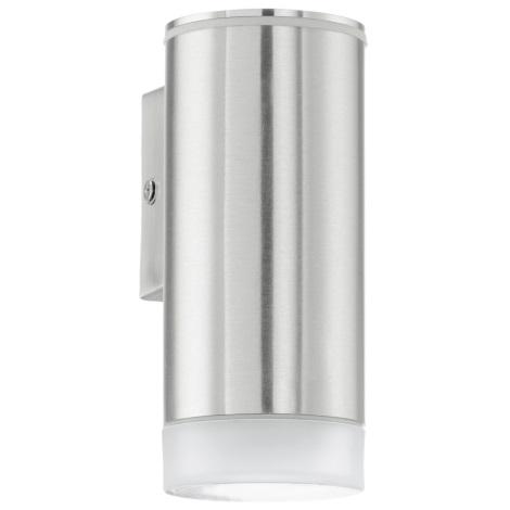 EGLO 92735 - Venkovní nástěnné svítidlo RIGA-LED 1xGU10/2,5W