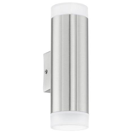 Eglo 92736 - Venkovní nástěnné svítidlo RIGA-LED GU10/2.5W/230V