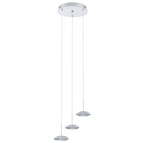 Eglo 92785 - LED lustr TARUGO 3xLED/4,5W/230V