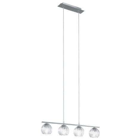 EGLO 92852 - Závěsné svítidlo CIVO 4xG9/33W