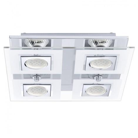 EGLO 92876 - LED Stropní svítidlo CABO 4xGU10/3W LED