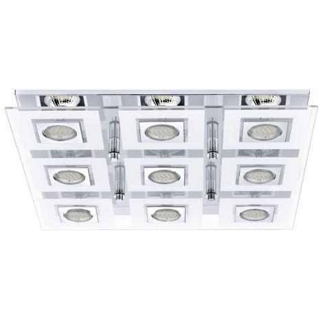 Eglo 92877 - LED stropní svítidlo CABO 9xGU10/3W/230V