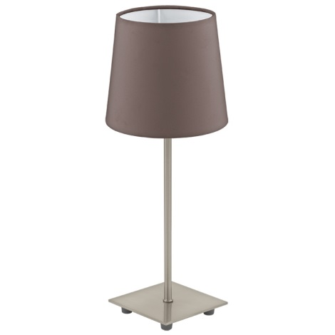 Eglo 92882 - Stolní lampa LAURITZ 1xE14/40W/230V
