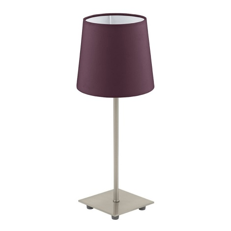 Eglo 92883 - Stolní lampa LAURITZ 1xE14/40W/230V