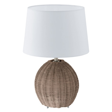 EGLO 92913 - Stolní lampa ROIA 1xE27/60W