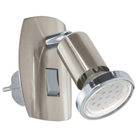 Eglo 92924 - LED svítidlo do zásuvky MINI 4 1xGU10-LED/3W/230V