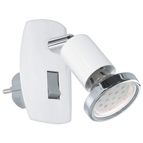 Eglo 92925 - LED svítidlo do zásuvky MINI 4 1xGU10-LED/3W/230V