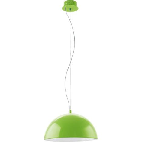 EGLO 92953 - LED Závěsné svítidlo GAETANO LED/18W/230V zelená