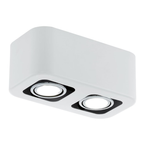 EGLO 93012 - Downlight TORENO 2xGU10/5W