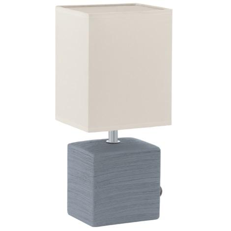 EGLO 93044 - Stolní lampa MATARO 1xE14/40W