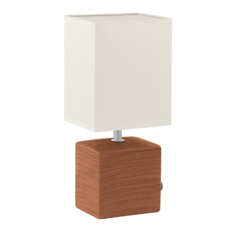 EGLO 93045 - Stolní lampa MATARO 1xE14/40W