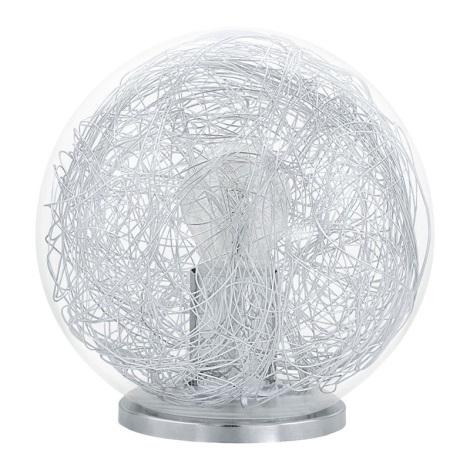 Eglo 93075 - Stolní lampa  LUBERIO 1xE27/60W/230V