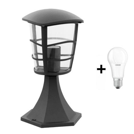 Eglo 93099 - Venkovní lampa ALORIA 1xE27/60W/230V